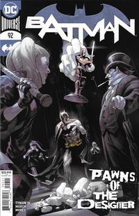 Cover Thumbnail for Batman (DC, 2016 series) #92