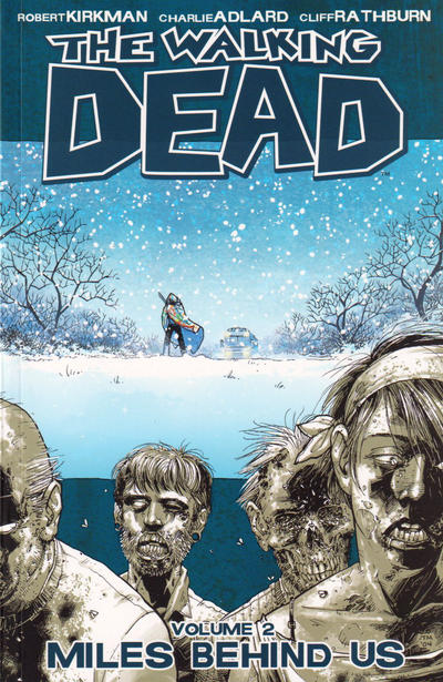 Cover for The Walking Dead (Image, 2004 series) #2 - Miles Behind Us [Fifth Printing]