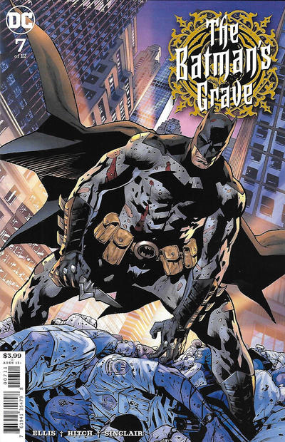 Cover for The Batman's Grave (DC, 2019 series) #7 [Bryan Hitch & Alex Sinclair Cover]