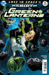Cover for Green Lanterns (DC, 2016 series) #22 [Newsstand]