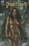Cover for Dejah Thoris (Dynamite Entertainment, 2019 series) #5 [Cover A Lucio Parrillo]