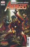Cover Thumbnail for Avengers (2018 series) #33 (733) [Ryan Benjamin Marvel Zombies Cover]