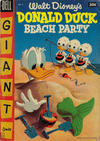 Cover Thumbnail for Walt Disney's Donald Duck Beach Party (1954 series) #2 [30¢]