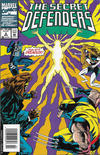 Cover Thumbnail for The Secret Defenders (1993 series) #2 [Newsstand]