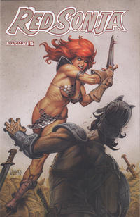 Cover Thumbnail for Red Sonja (Dynamite Entertainment, 2019 series) #15 [Cover B Joseph Michael Linsner]