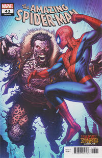 Cover Thumbnail for Amazing Spider-Man (Marvel, 2018 series) #43 (844) [Marvel Zombies Variant - Dale Keown Cover]