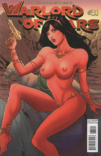 Cover Thumbnail for Warlord of Mars (Dynamite Entertainment, 2010 series) #31 [Carlos Rafael Risqué Cover]
