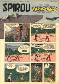 Cover Thumbnail for Spirou (Dupuis, 1947 series) #841