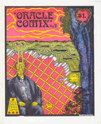 Cover Thumbnail for Oracle Comix (Thru Black Holes Comix, 1980 series) #2