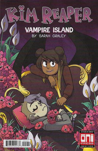 Cover for Kim Reaper: Vampire Island (Oni Press, 2018 series) #1 [Cover A]