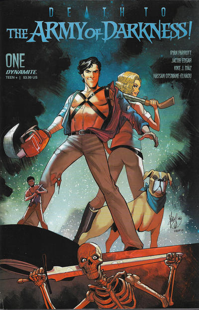 Cover for Death to the Army of Darkness (Dynamite Entertainment, 2020 series) #1 [Bonus FOC Cover Ken Haeser]