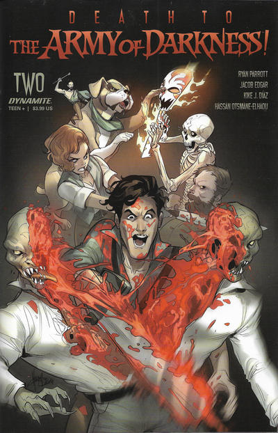 Cover for Death to the Army of Darkness (Dynamite Entertainment, 2020 series) #2 [Cover A Ben Oliver]