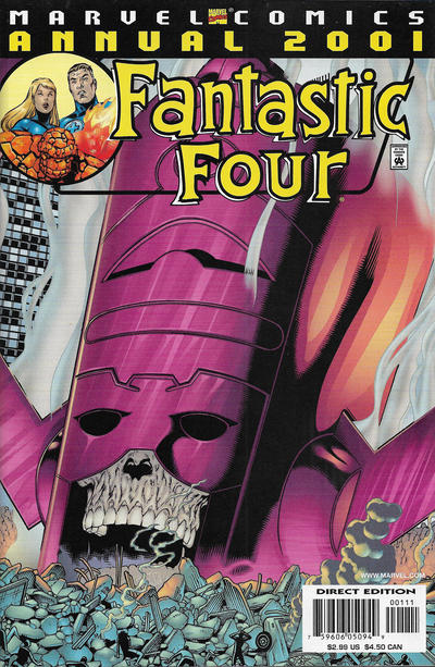 Cover for Fantastic Four 2001 (Marvel, 2001 series)