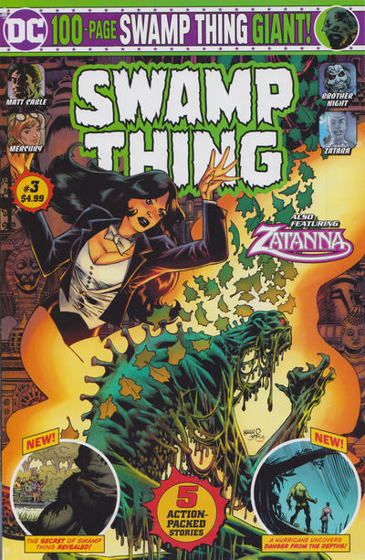 Cover for Swamp Thing Giant (DC, 2019 series) #3 [Mass Market Edition]