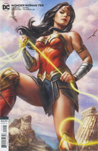 Cover for Wonder Woman (DC, 2016 series) #755 [Robson Rocha & Danny Miki Cover]