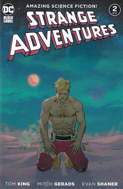 Cover for Strange Adventures (DC, 2020 series) #2