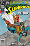 Cover Thumbnail for The Adventures of Superboy (1991 series) #22 [Newsstand]