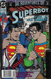 Cover for Superboy (DC, 1990 series) #16 [Newsstand]
