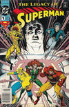 Cover Thumbnail for Superman: The Legacy of Superman (1993 series) #1 [Newsstand]
