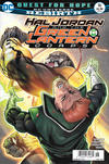 Cover Thumbnail for Hal Jordan and the Green Lantern Corps (2016 series) #16 [Newsstand]