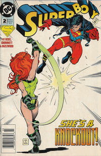Cover Thumbnail for Superboy (DC, 1994 series) #2 [Newsstand]