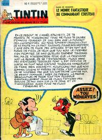 Cover Thumbnail for Le journal de Tintin (Le Lombard, 1946 series) #v18#53/1963