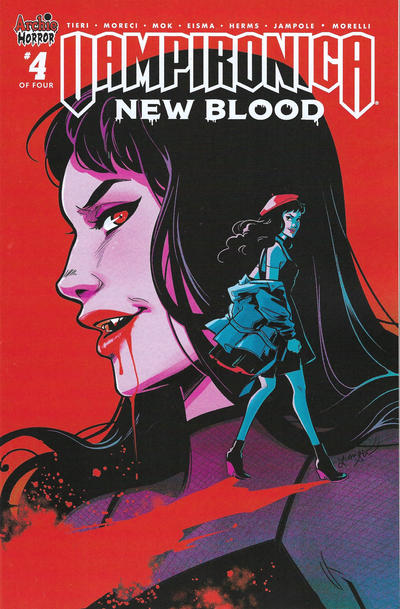 Cover for Vampironica: New Blood (Archie, 2020 series) #4 [Cover C Variant Lisa Sterle]