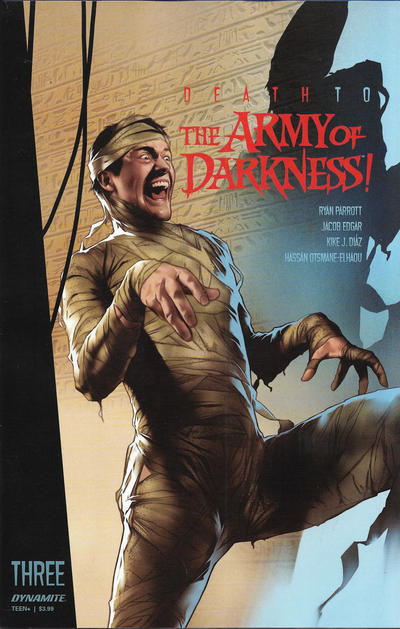 Cover for Death to the Army of Darkness (Dynamite Entertainment, 2020 series) #3 [Cover D Adam Gorham]