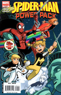 Cover Thumbnail for Spider-Man and Power Pack (Marvel, 2007 series) #1 [Direct Edition]