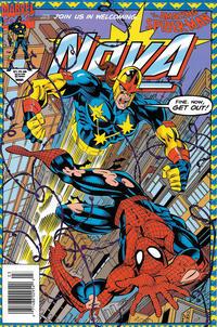 Cover Thumbnail for Nova (Marvel, 1994 series) #3 [Newsstand]