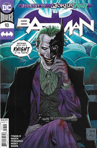 Cover Thumbnail for Batman (DC, 2016 series) #93