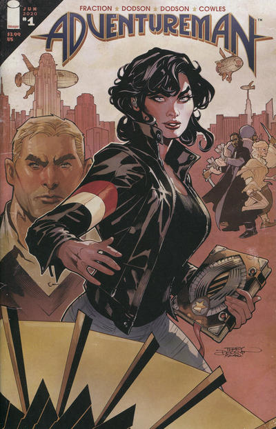 Cover for Adventureman (Image, 2020 series) #1
