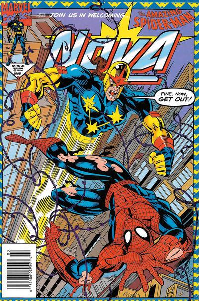Cover for Nova (Marvel, 1994 series) #3
