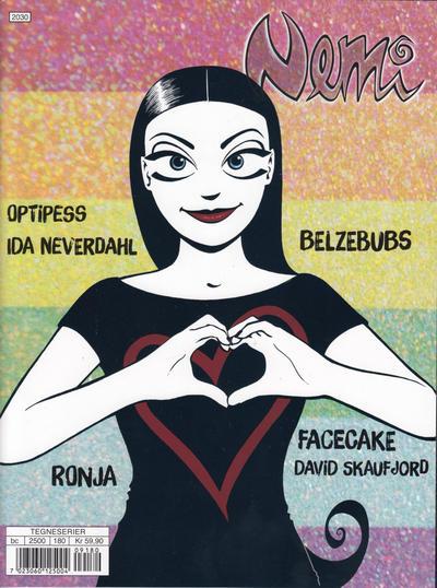 Cover for Nemi (Gyldendal Norsk Forlag, 2018 series) #180