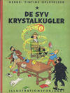 Cover for Tintins oplevelser (Illustrationsforlaget, 1960 series) #3 - De syv krystalkugler