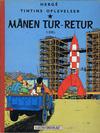 Cover for Tintins oplevelser (Illustrationsforlaget, 1960 series) #7 - Månen tur-retur 1. del.