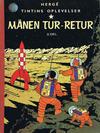 Cover for Tintins oplevelser (Illustrationsforlaget, 1960 series) #8 - Månen tur-retur 2. del.