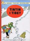 Cover for Tintins oplevelser (Illustrationsforlaget, 1960 series) #9 - Tintin i Tibet