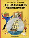 """Cover for Tintins oplevelser (Illustrationsforlaget, 1960 series) #11 - """"Enhjørningen""""s hemmelighed"""
