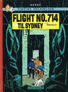 Cover for Tintins oplevelser (Illustrationsforlaget, 1960 series) #16 - Flight No. 714 til Sydney