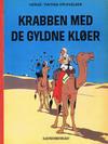 Cover for Tintins oplevelser (Illustrationsforlaget, 1960 series) #17 - Krabben med de gyldne kløer
