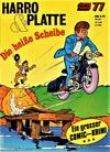 Cover for Kauka Super Serie (Gevacur, 1970 series) #77 - Harro und Platte - Die heiße Scheibe