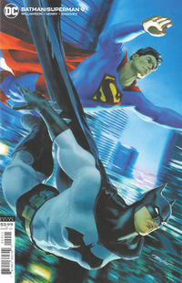 Cover Thumbnail for Batman / Superman (DC, 2019 series) #9 [Mike Mayhew Variant Cover]