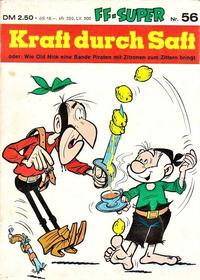 Cover Thumbnail for Kauka Super Serie (Gevacur, 1970 series) #56 - Old Nick - Kraft durch Saft