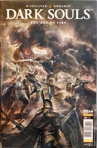 Cover Thumbnail for Dark Souls: The Age of Fire (Titan, 2018 series) #4 [Cover A]