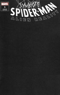 Cover Thumbnail for Symbiote Spider-Man: Alien Reality (Marvel, 2020 series) #1 [Variant Edition - Blank Black Cover]