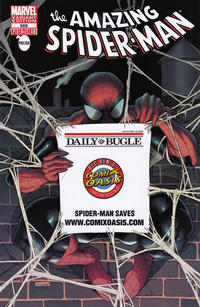 Cover Thumbnail for The Amazing Spider-Man (Marvel, 1999 series) #666 [Variant Edition - Comixoasis.com Bugle Exclusive]