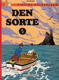 Cover Thumbnail for Tintins oplevelser (Illustrationsforlaget, 1960 series) #15 - Den sorte ø [4. oplag]