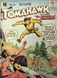 Cover Thumbnail for Tomahawk (Thorpe & Porter, 1954 series) #26