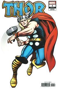 Cover Thumbnail for Thor (Marvel, 2020 series) #1 [Hidden Gem Jack Kirby]